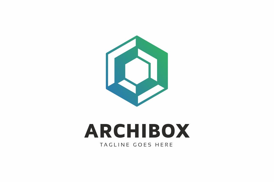 Hexagon Box Logo example image 1