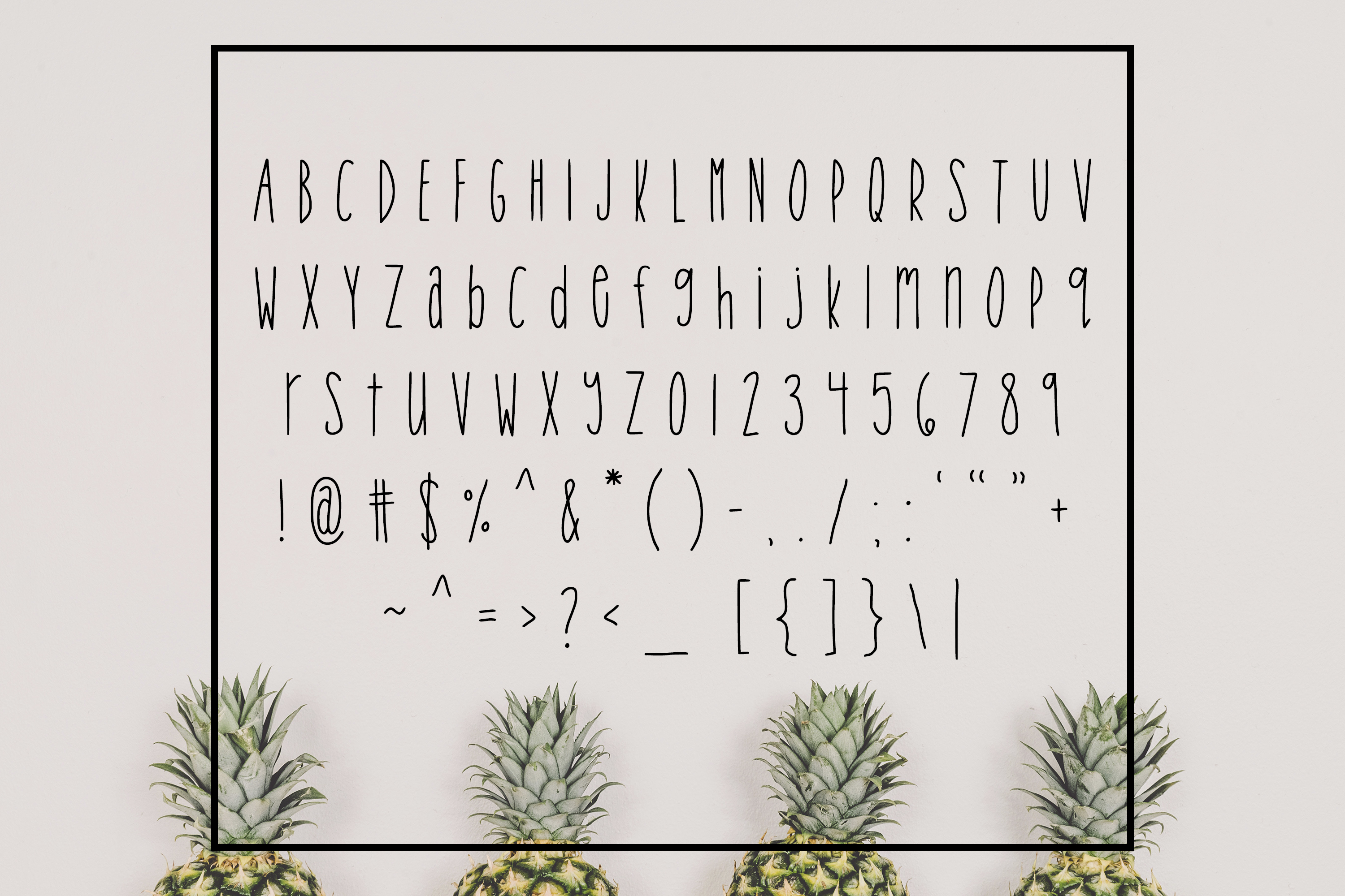 Tropical Trouble - Tall and Skinny Handwritten Font example image 2