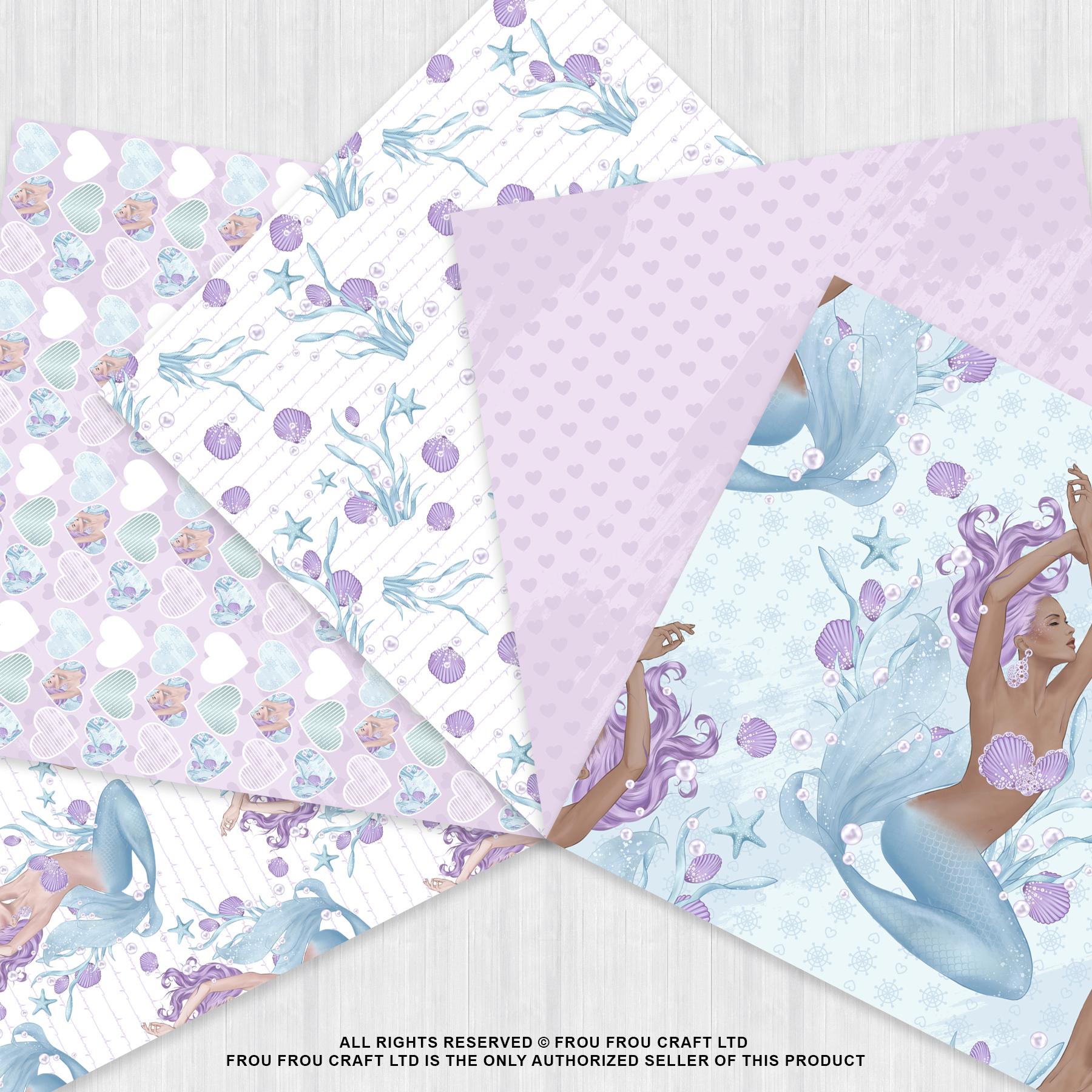 Mermaid Fairy Tale Sea Shell Ocean Paper Pack example image 4