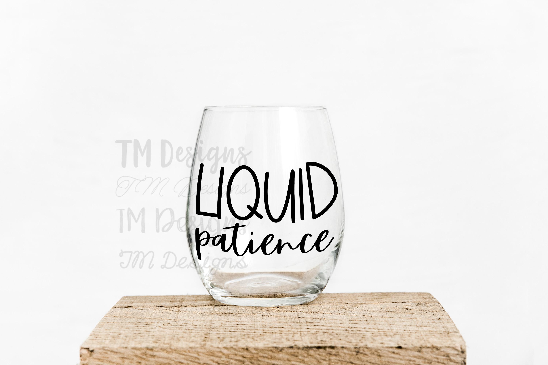 Liquid Patience SVG example image 2