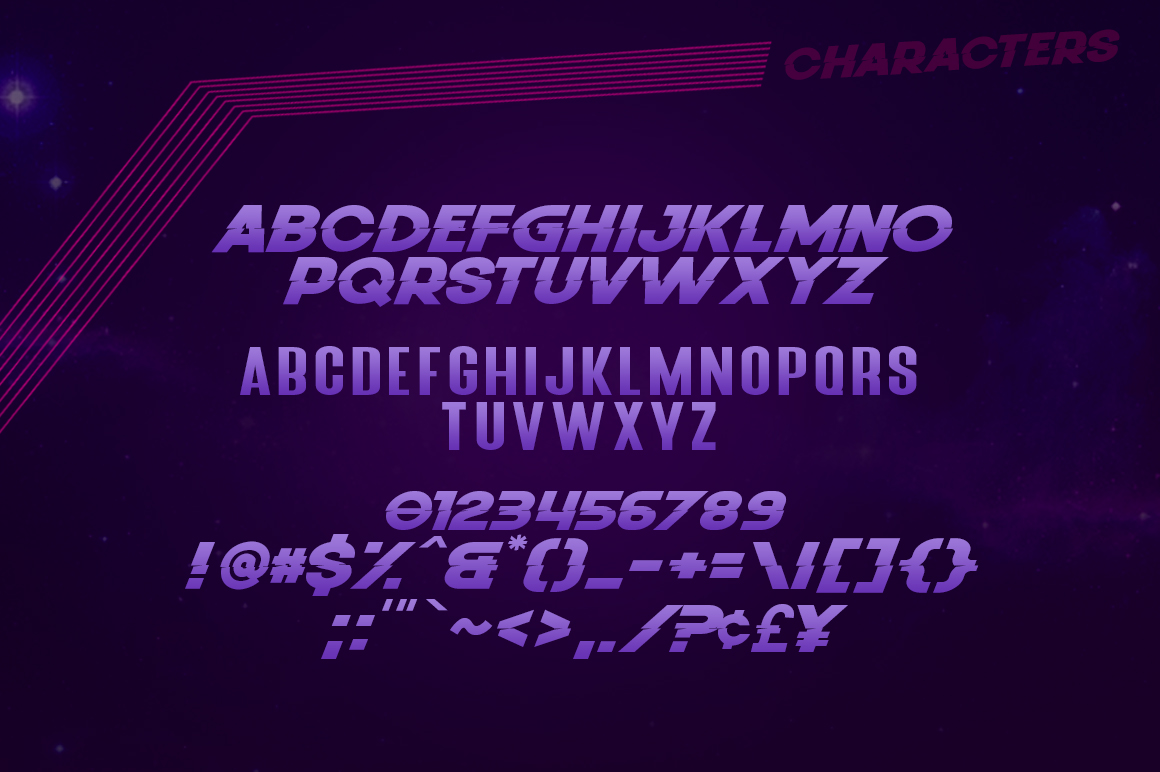 Young Sprime 3 Font example image 7