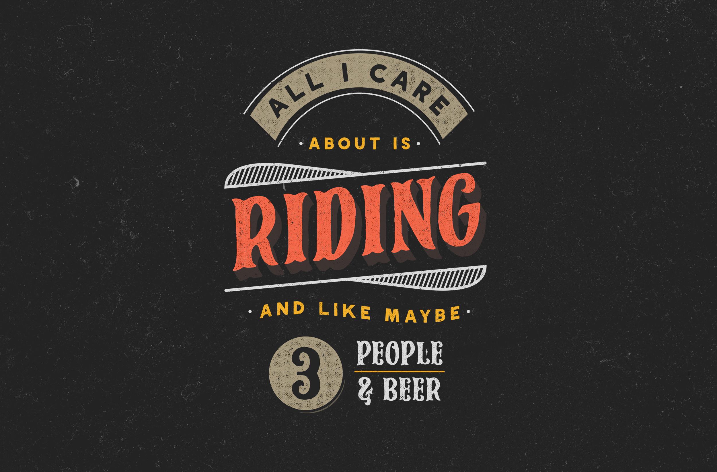 Sparkplugs Biker Rebel Font example image 3