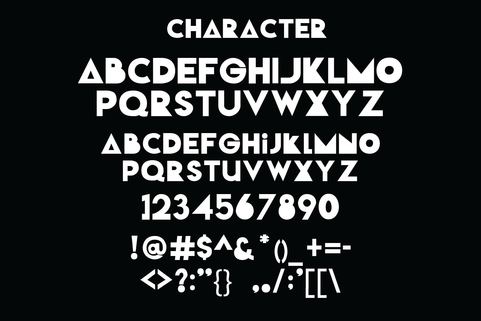 Popman Game Font example image 4