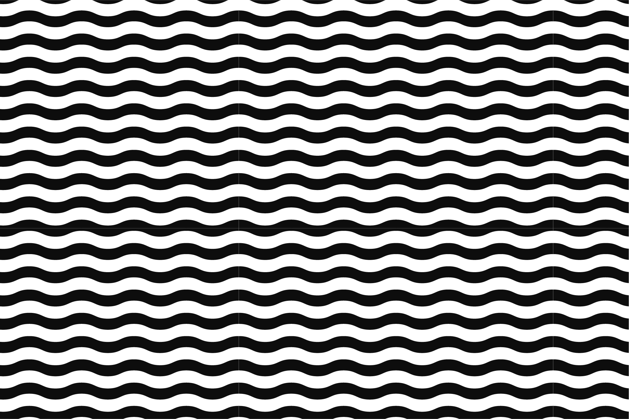 Wave&Zigzag seamless patterns. B&W. example image 7