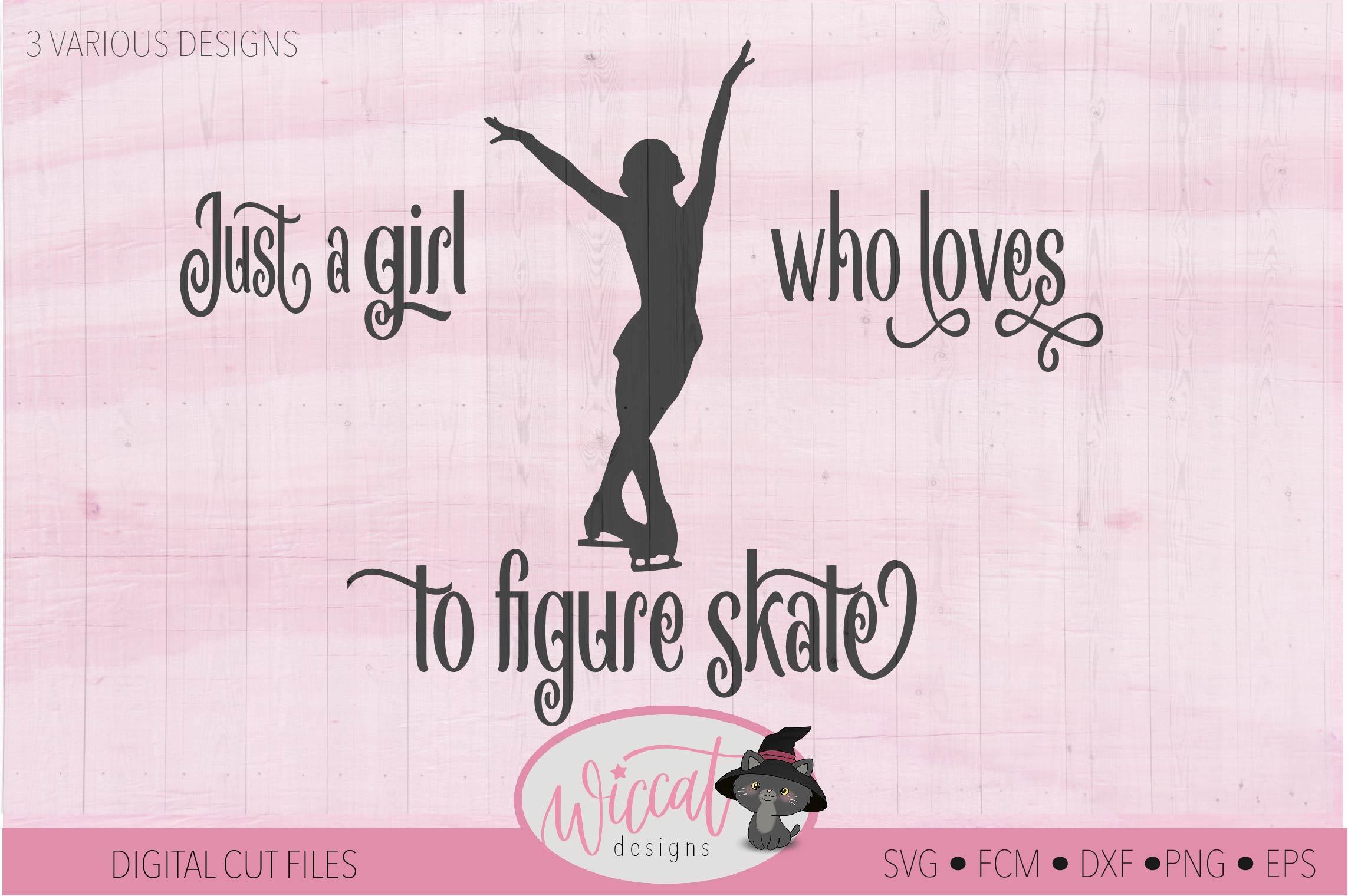 Girl loves Ice skating, Figure skates, winter sports example image 3