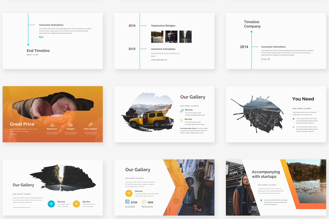 Mongo Multipurpose Powerpoint Template example image 4