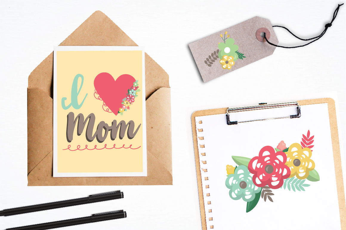 Mother's day graphics and illustrations example image 4
