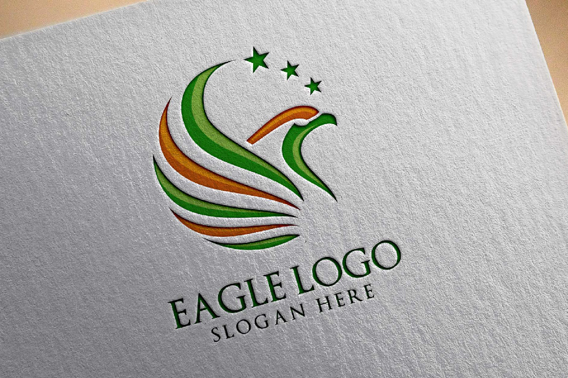 Eagle Star Logo Template example image 4