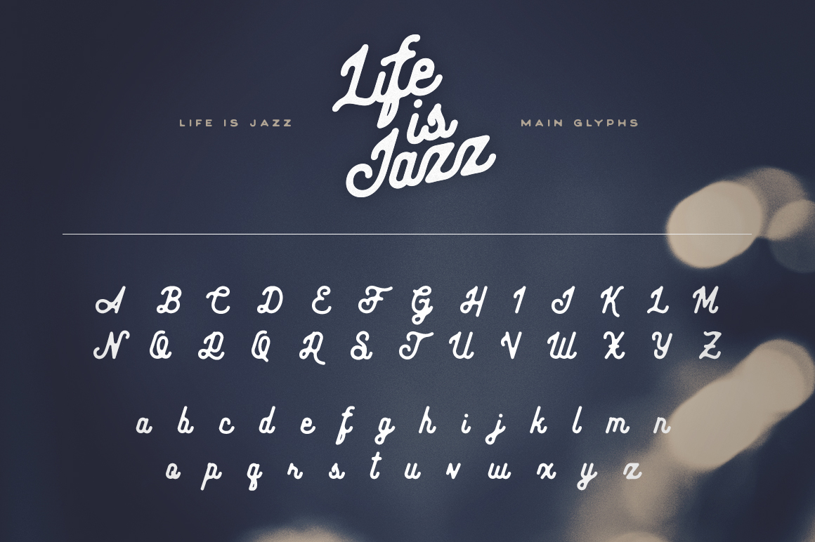 Life Is Jazz Script example image 5