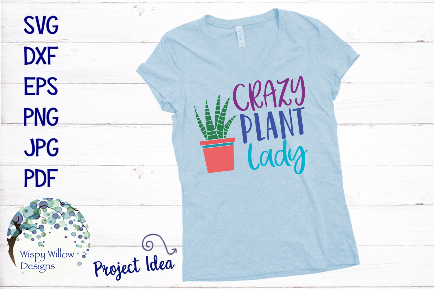 Crazy Plant Lady SVG example image 2