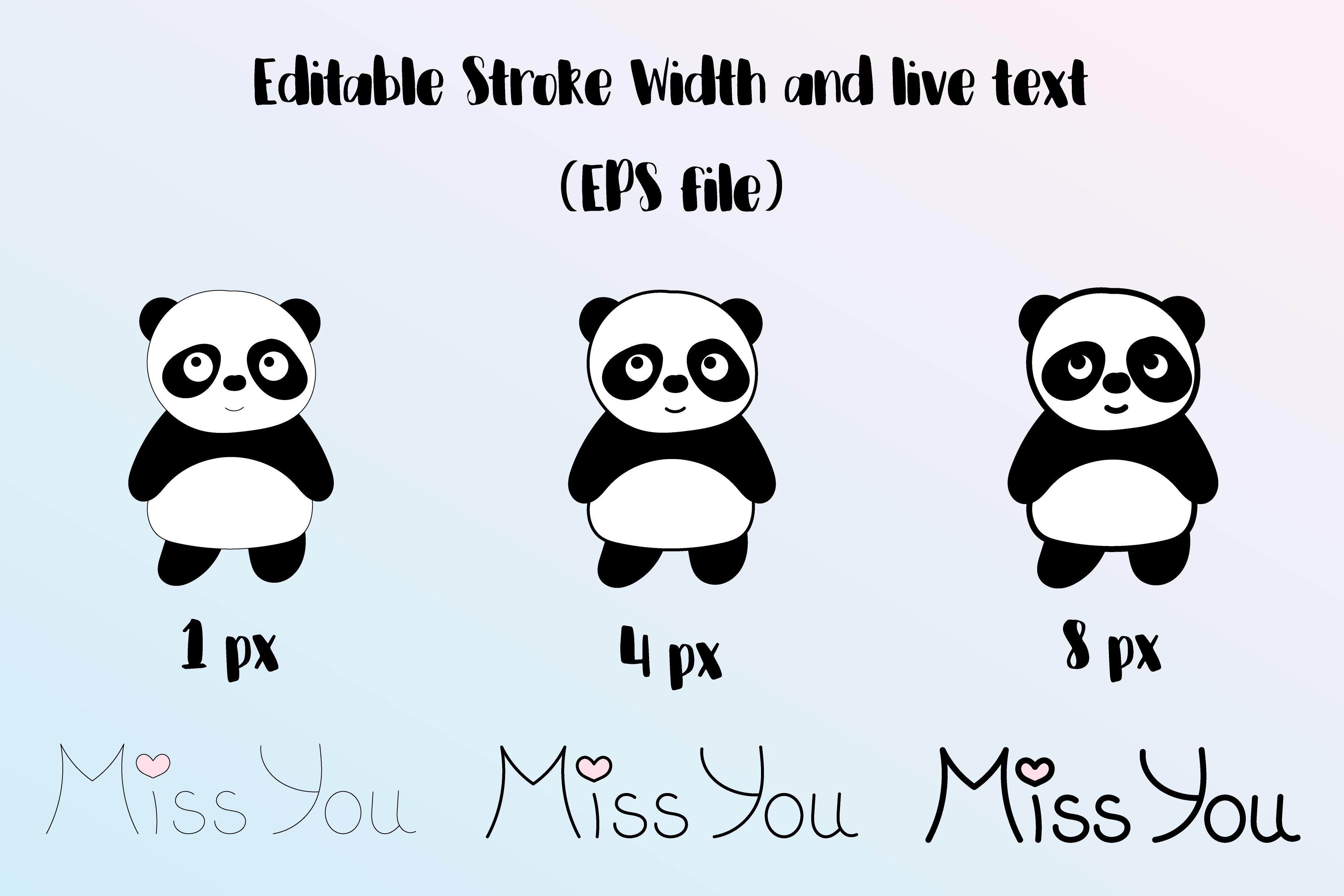Cute Panda example image 6
