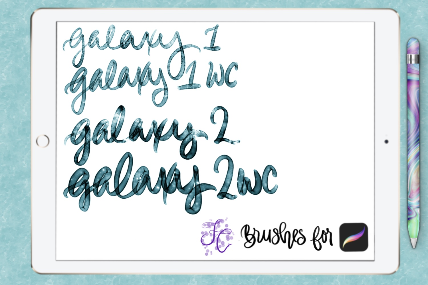 FC-galaxy-set1for PROCREATE example image 2
