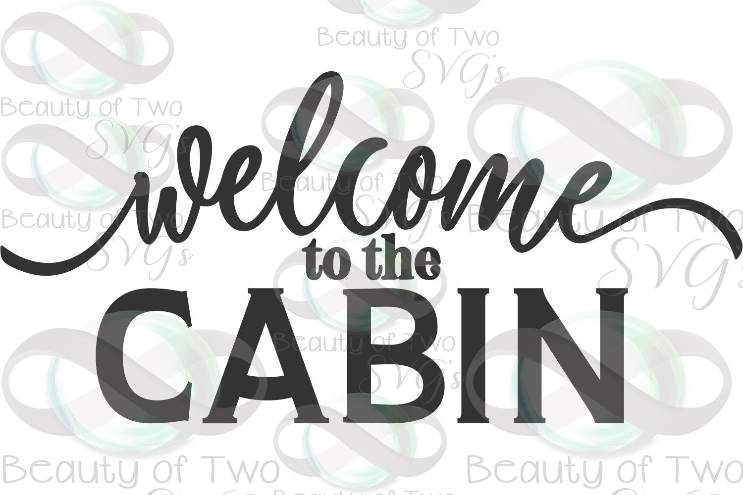 Welcome to the cabin svg, Cabin svg, Rustic cabin sign svg example image 3