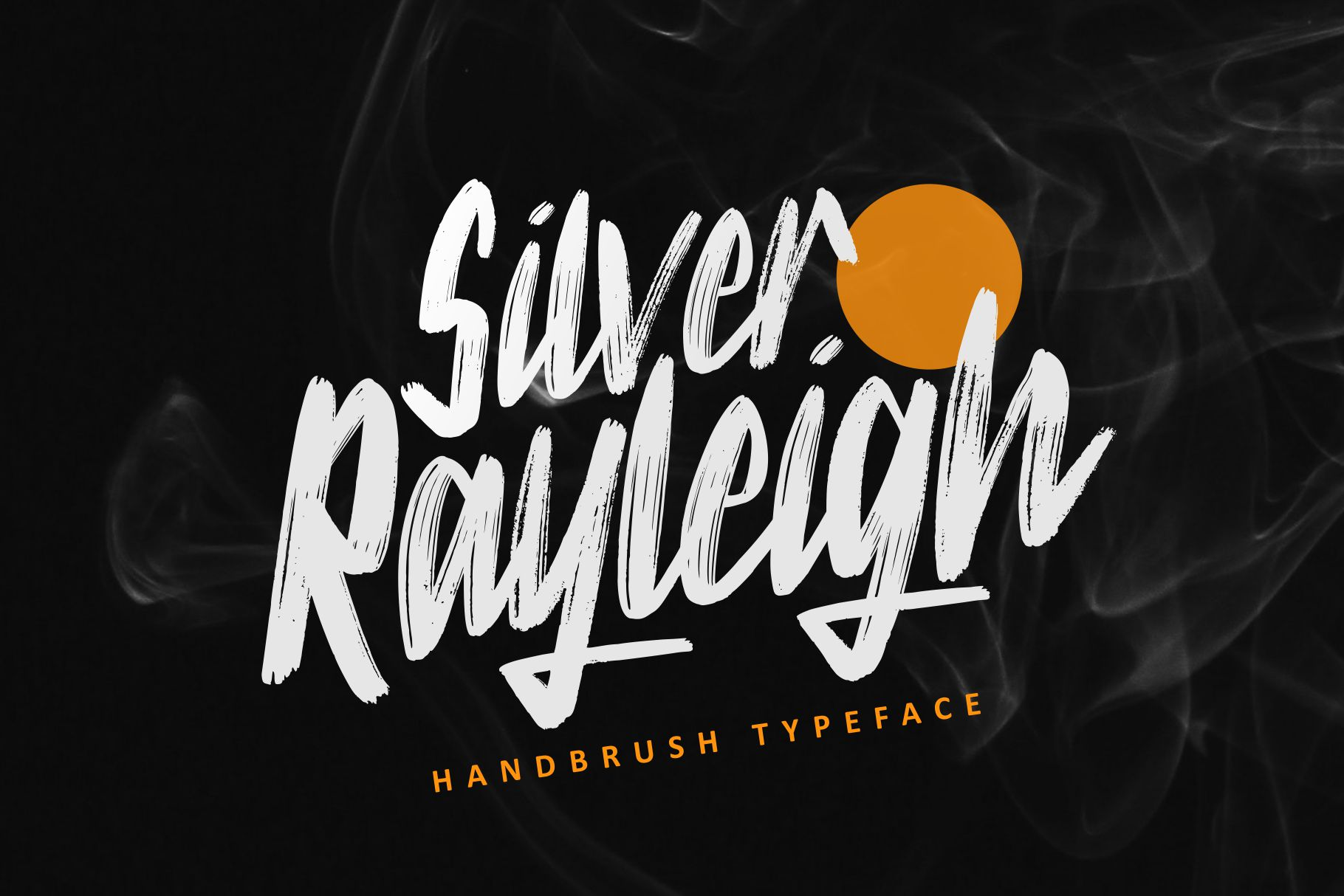 Silver Rayleigh - HandBrush Typeface example image 1