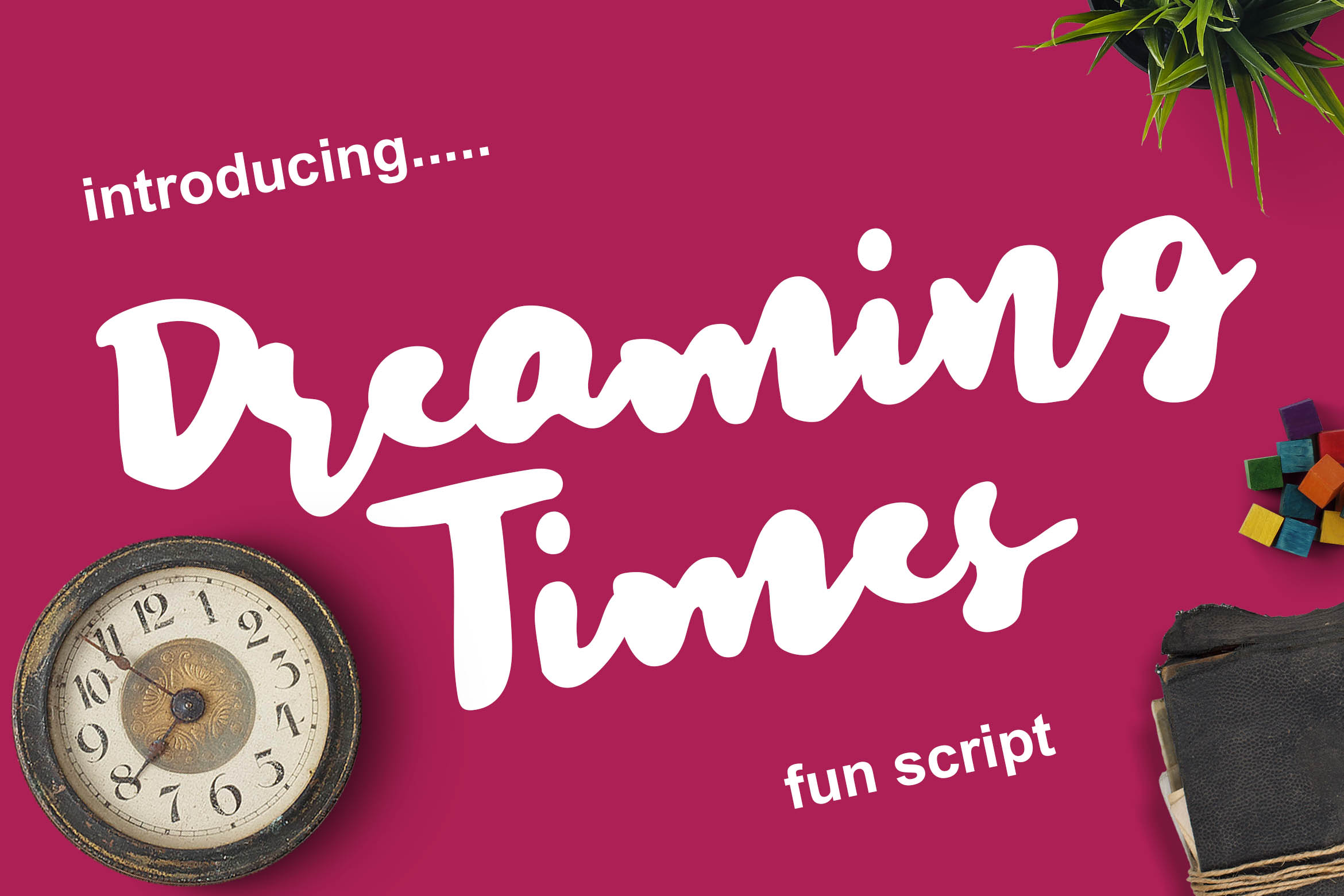 Dreaming Times - Playful Script example image 1