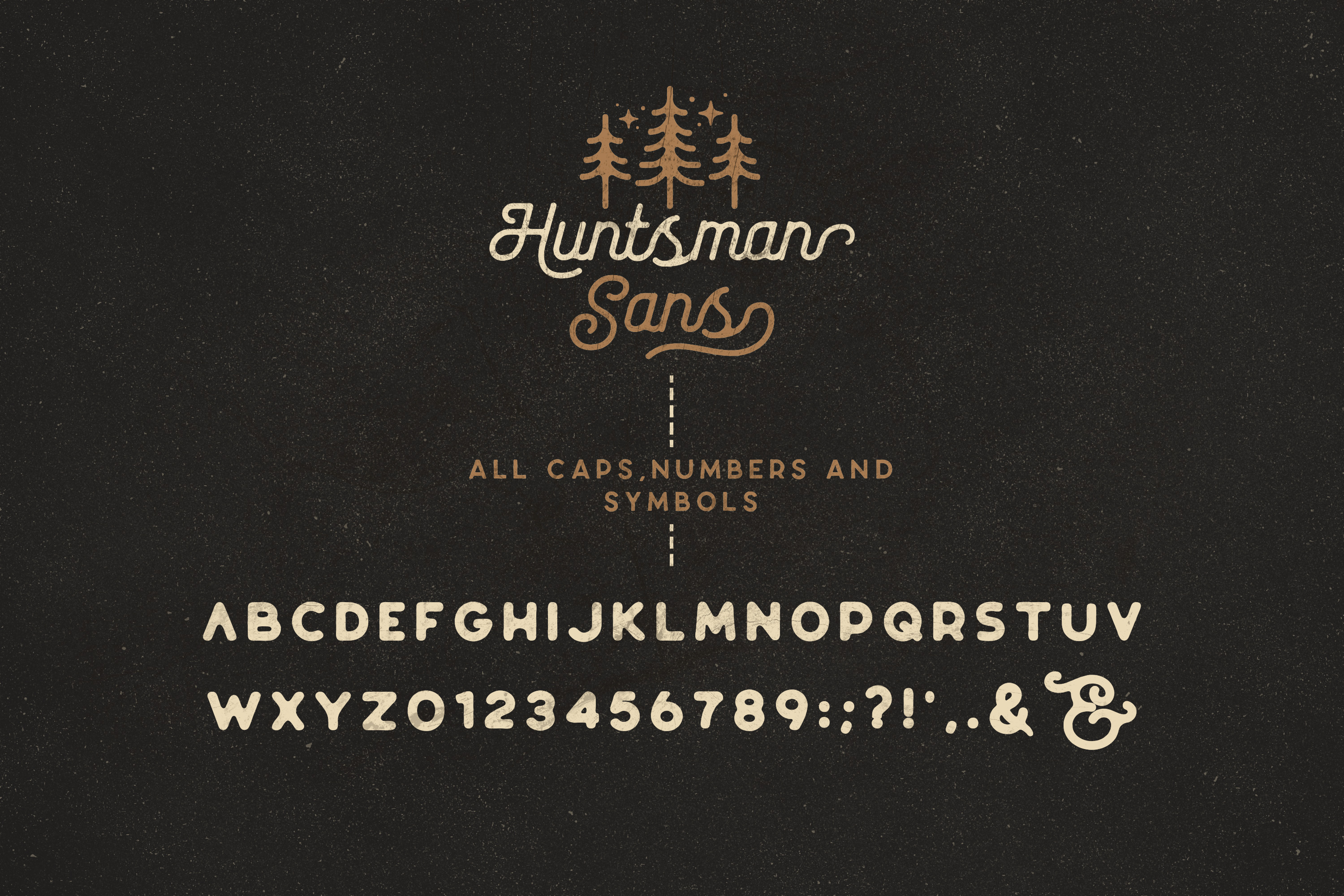 The Huntsman Script and Sans Typeface example image 14