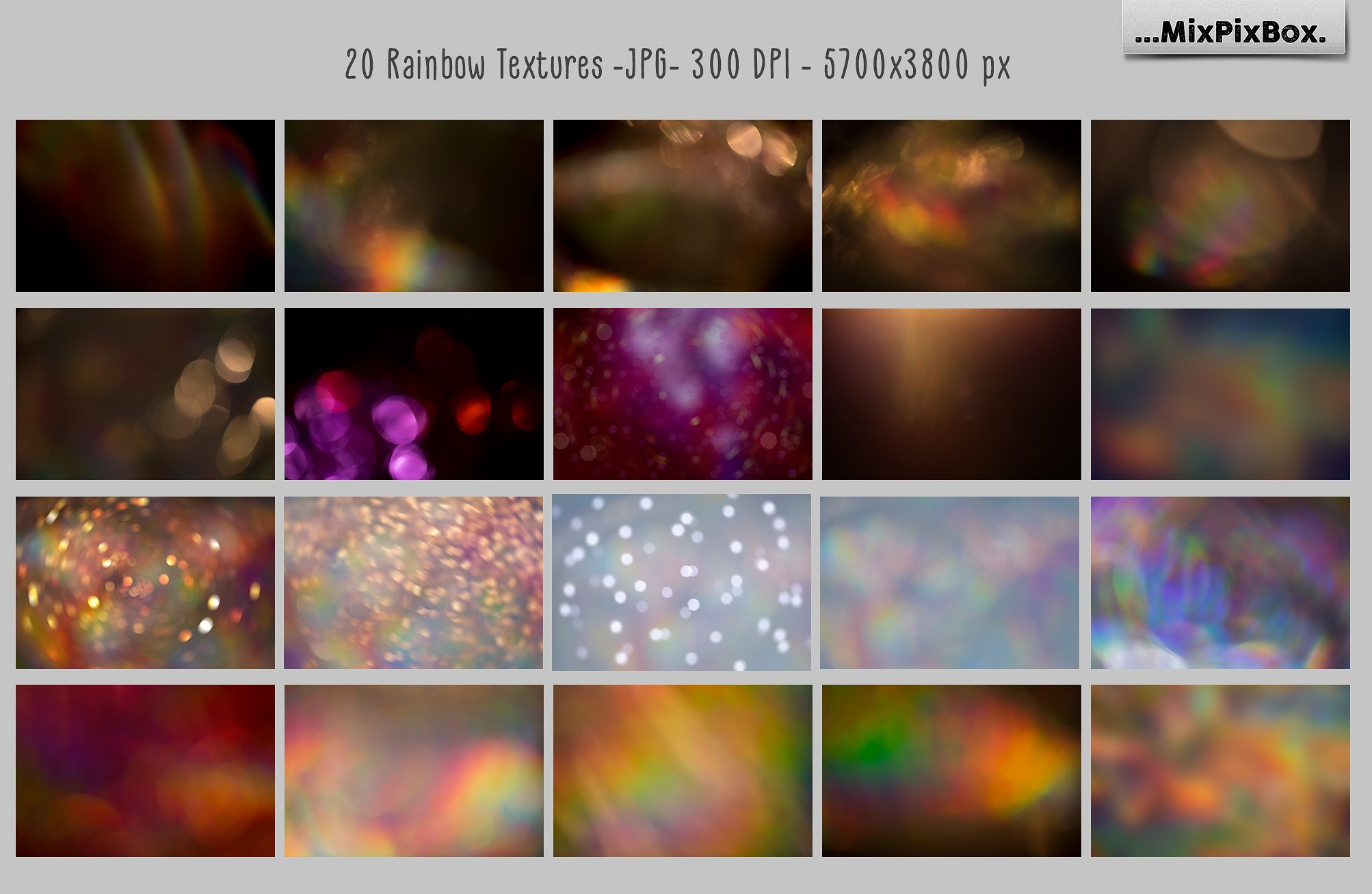 Rainbow overlays and textures example image 5