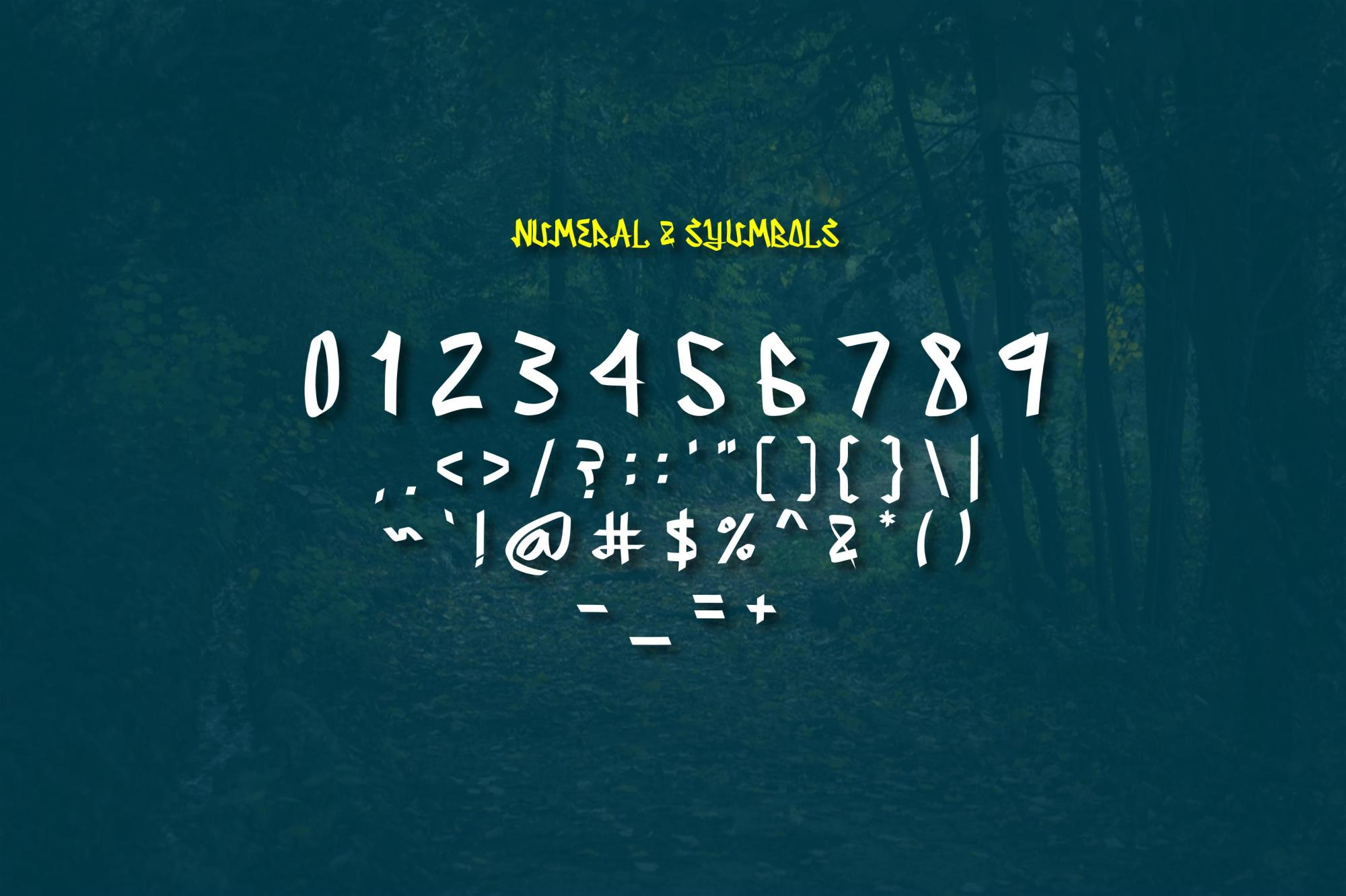 Serpong Typeface example image 7