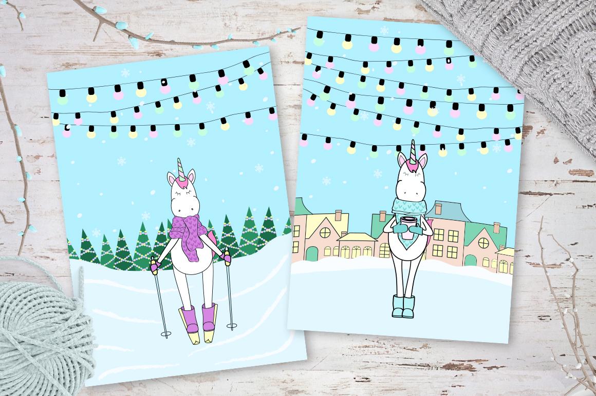 Unicorn's winter  example image 7