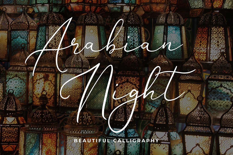 Brianna Qasim Calligraphy Font example image 5
