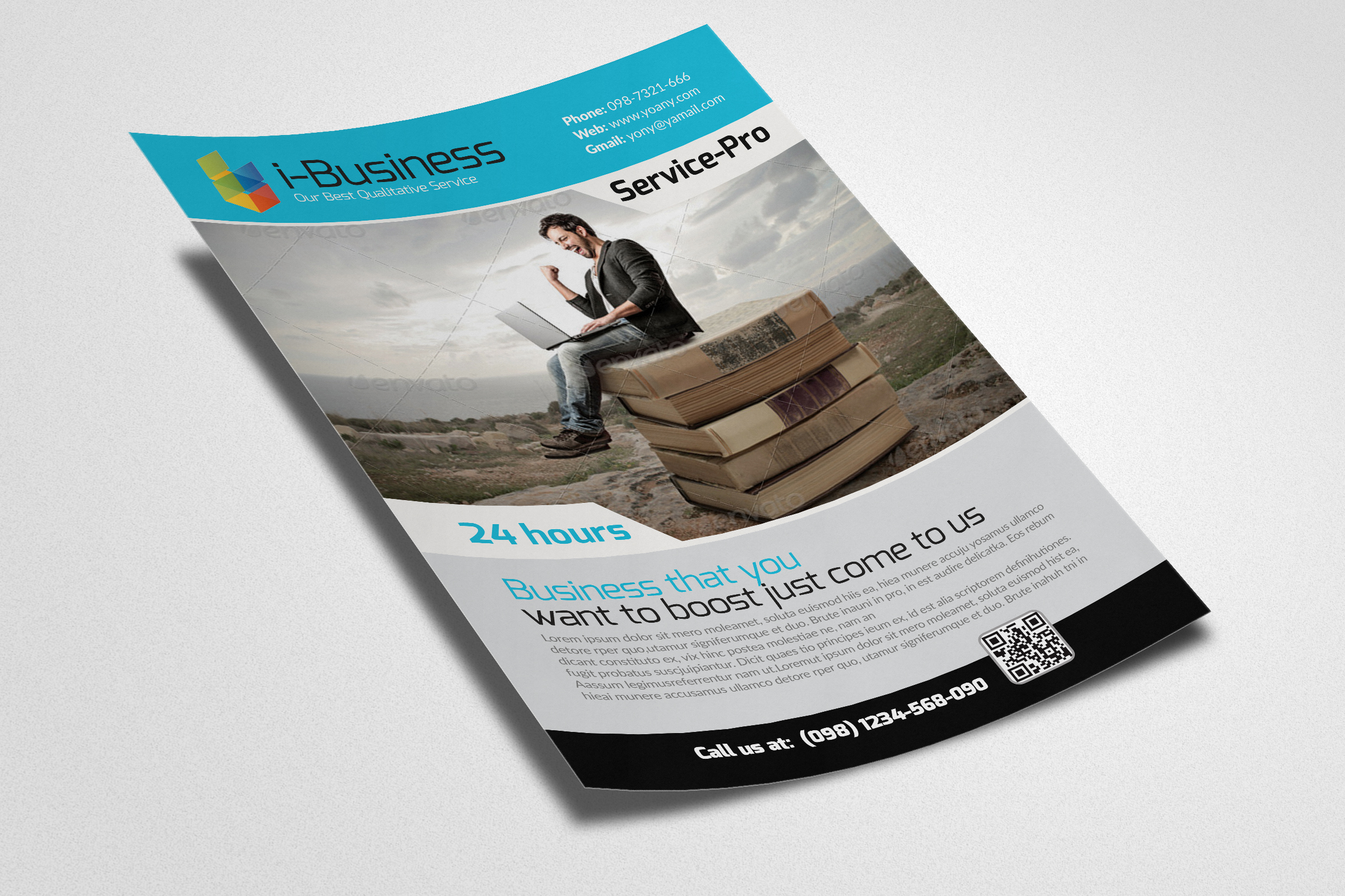 Business Solution Flyers example image 2