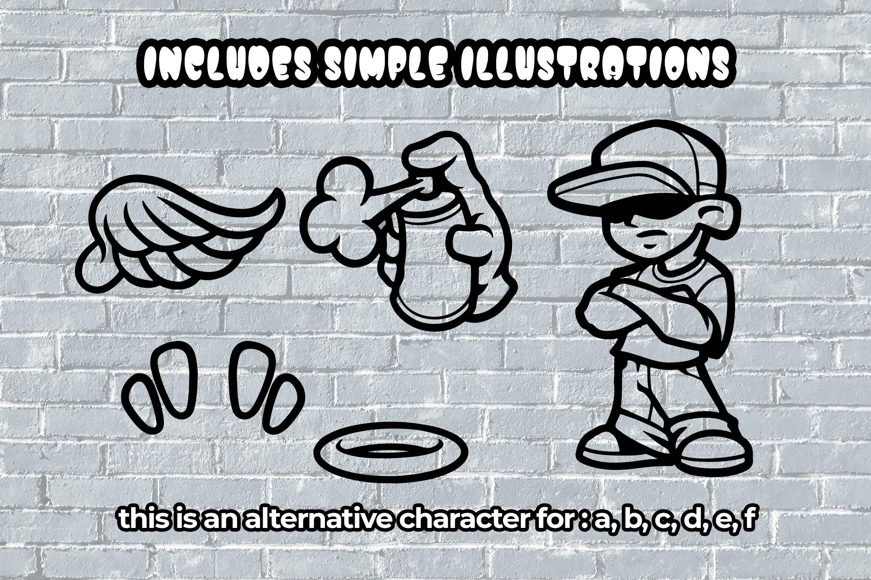 Street Pops - Graffiti Typeface example image 5
