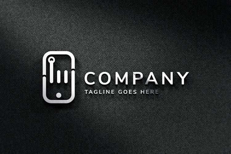Hand Phone Logo example image 3
