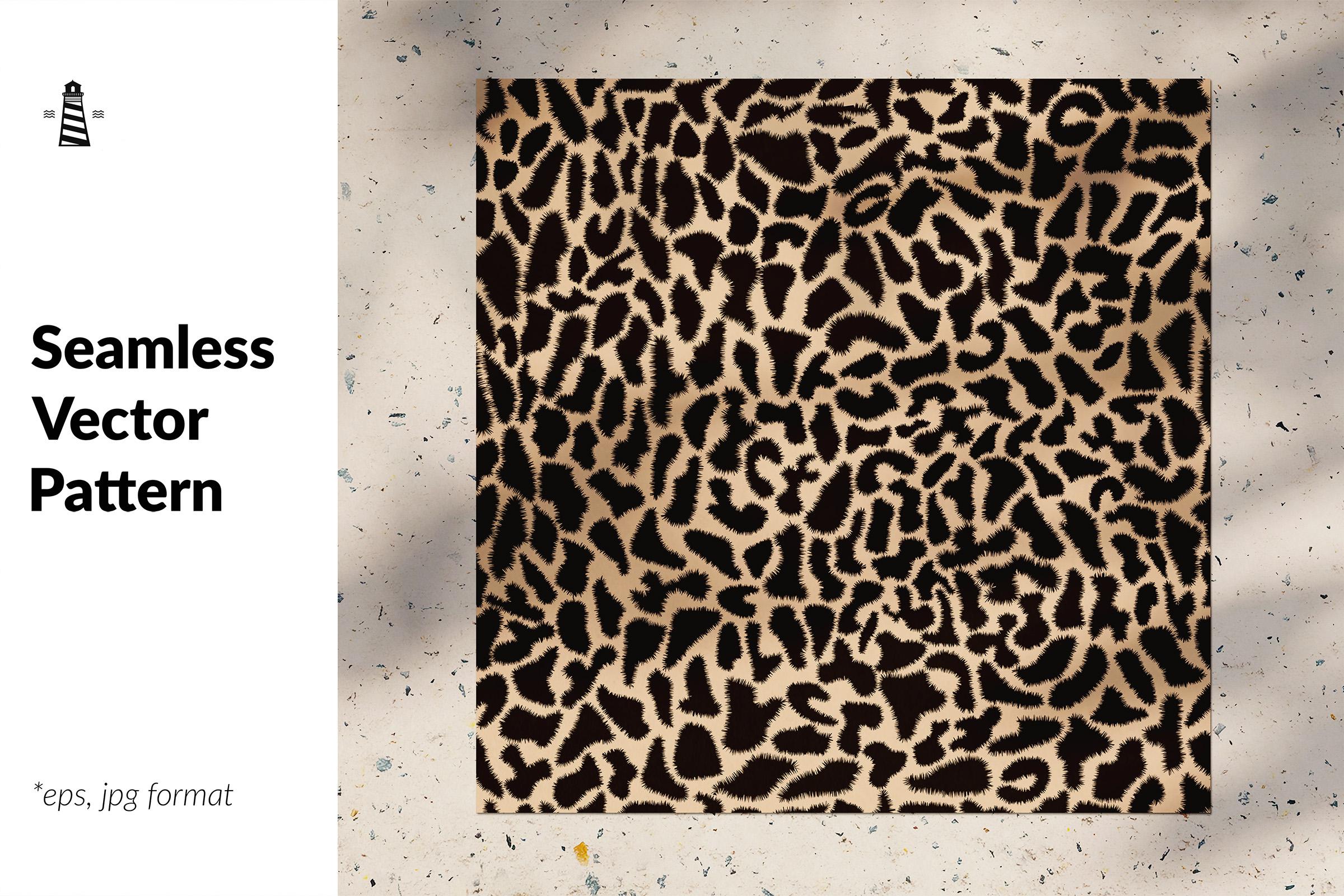Animal print seamless pattern example image 1
