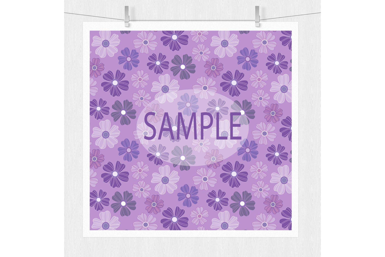 Purple Digital Paper example image 6