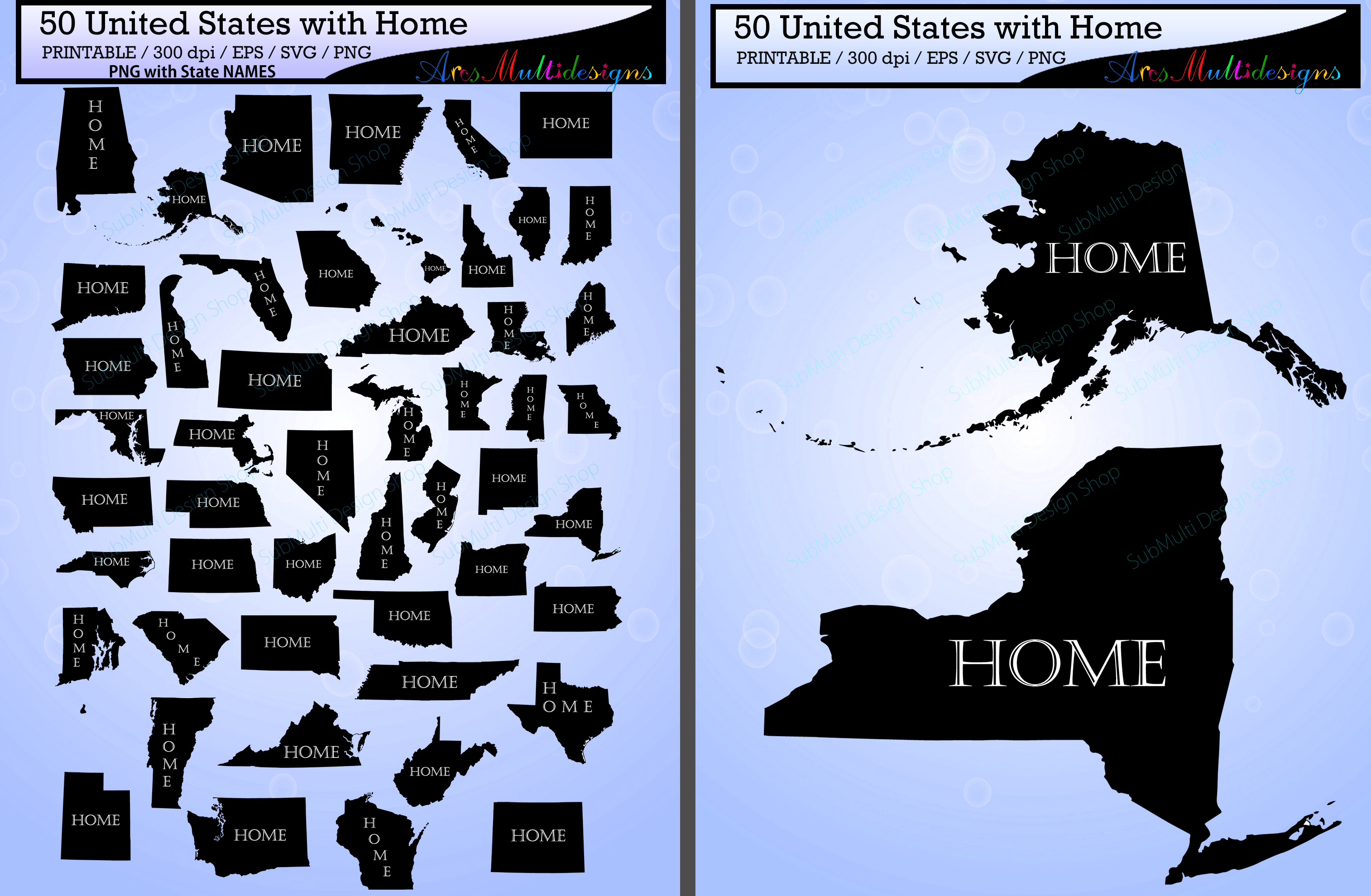 United States Map Svg.United States Map With Home Vector 50 States With Capital Map Us