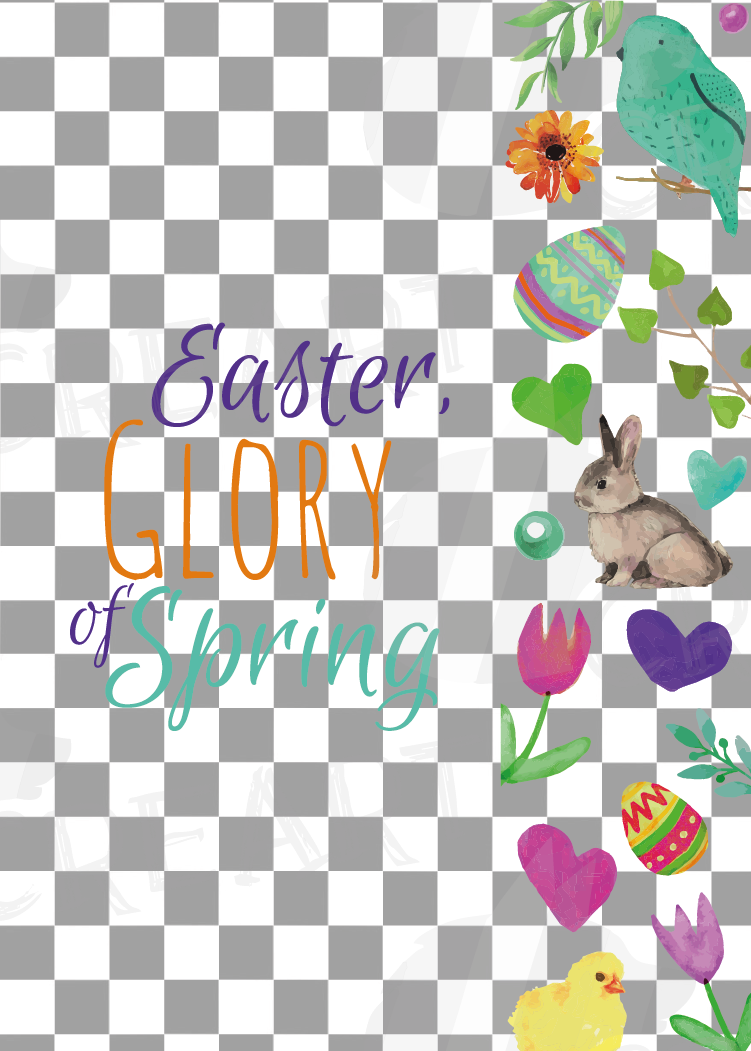 Easter greeting cards, 6 Happy Easter cards, colorful cards example image 12