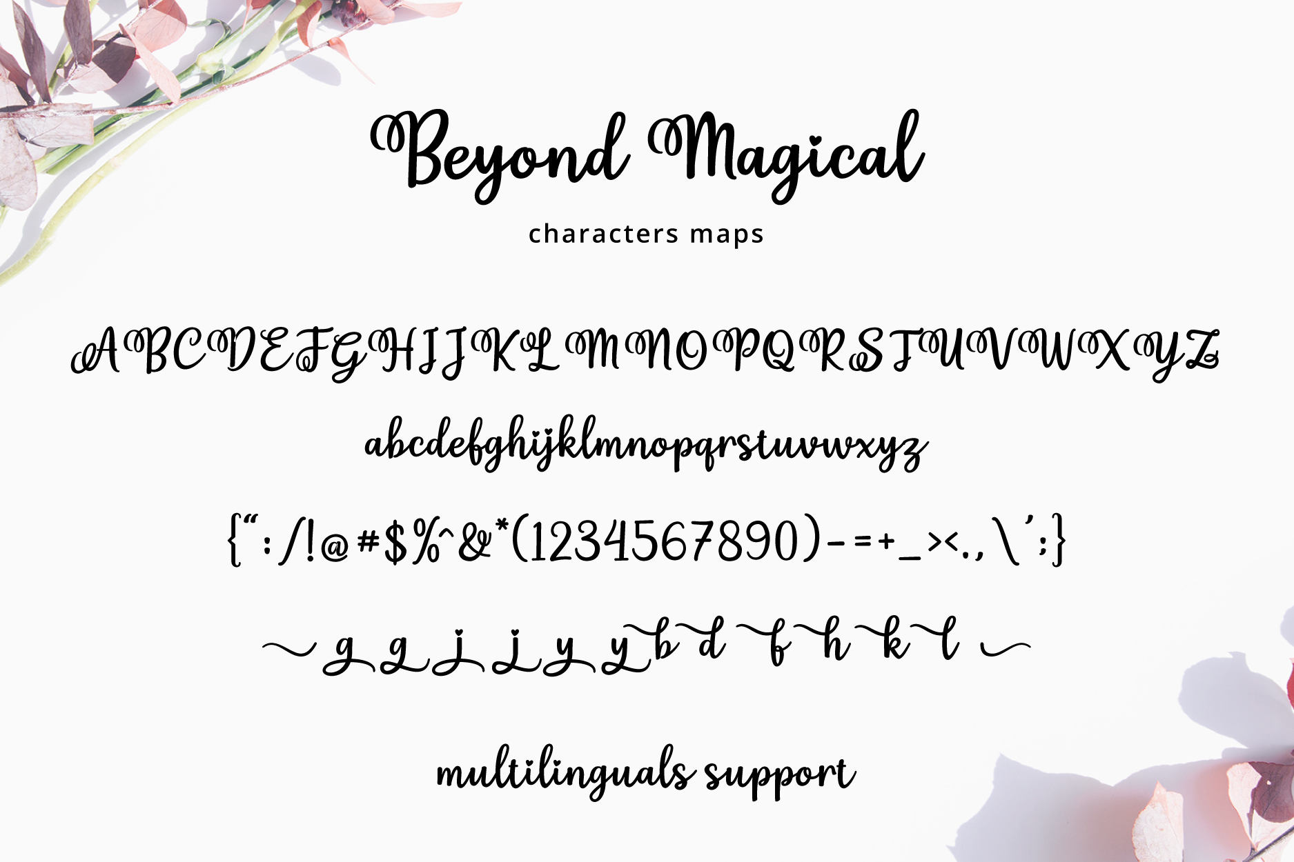 Beyond Magical Script example image 5