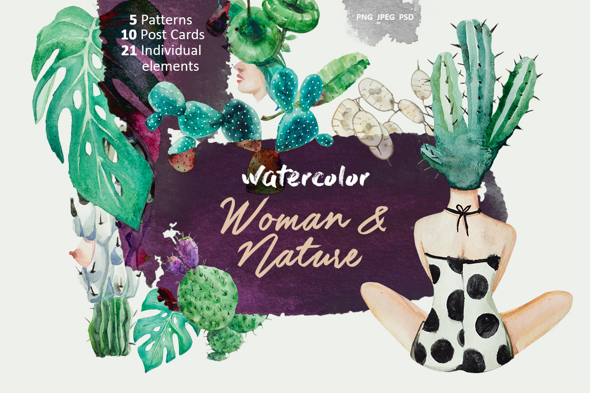 Woman & Nature example image 1