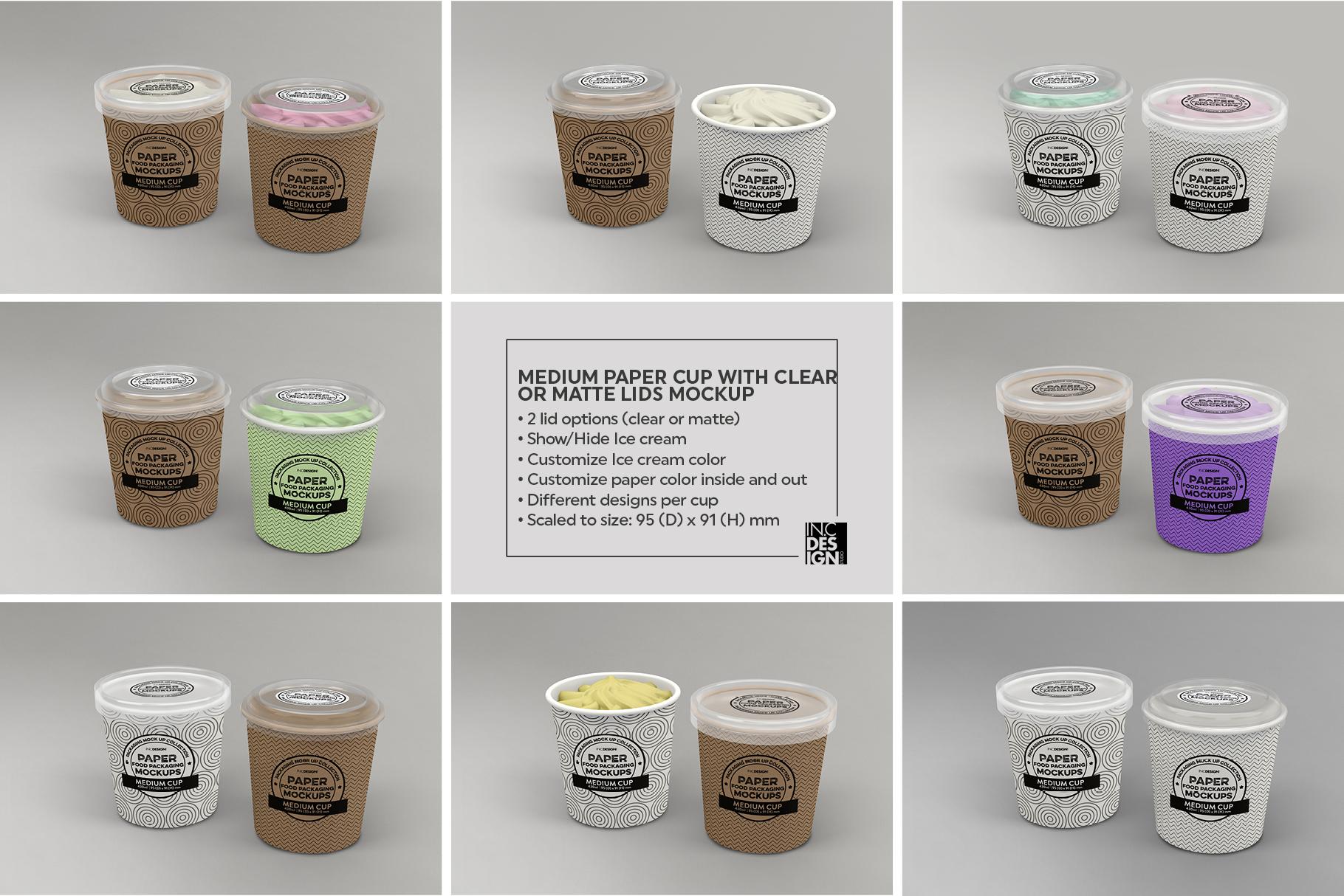 VOL.12 Food Box Packaging MockUps example image 11