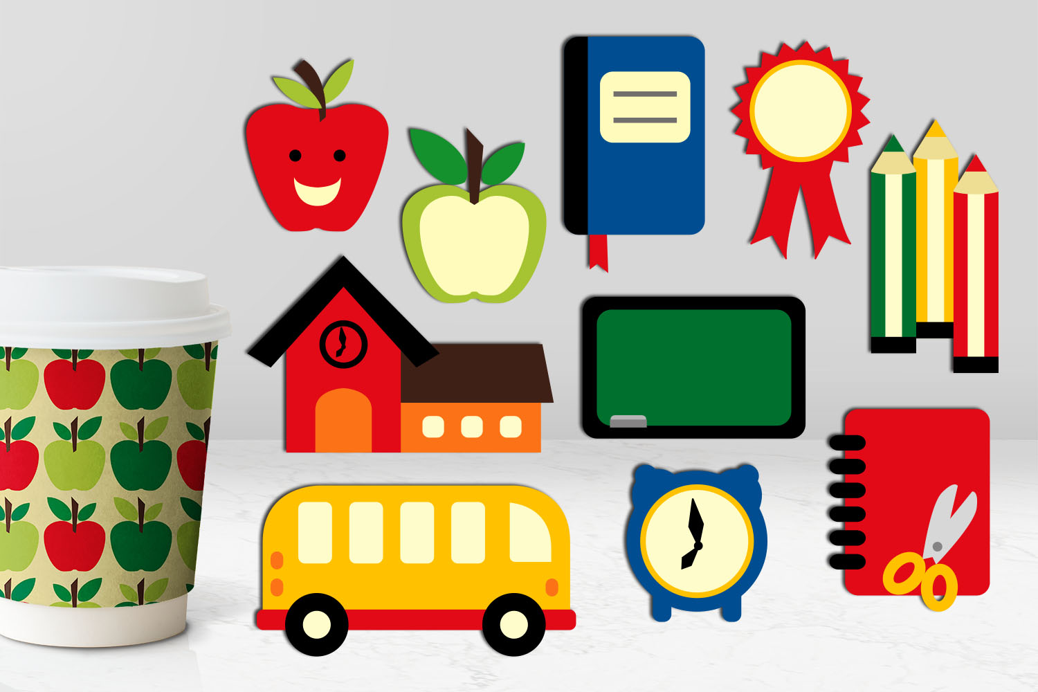 Back To School Clip Art Huge Bundle - Over 350 Graphics example image 13