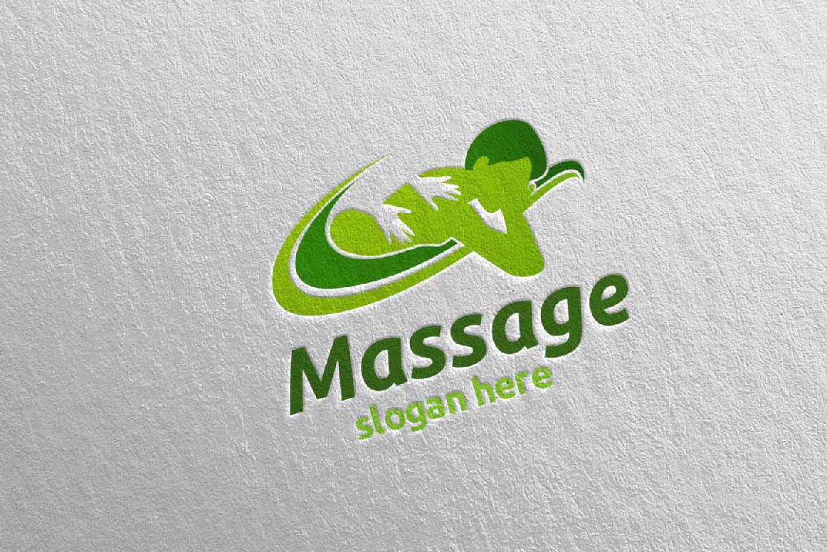 Massage Logo Design example image 2