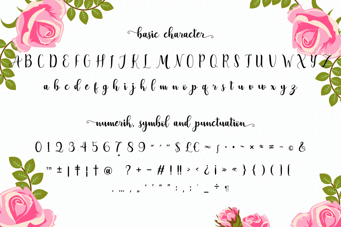 Adreena Lovely Font example image 6