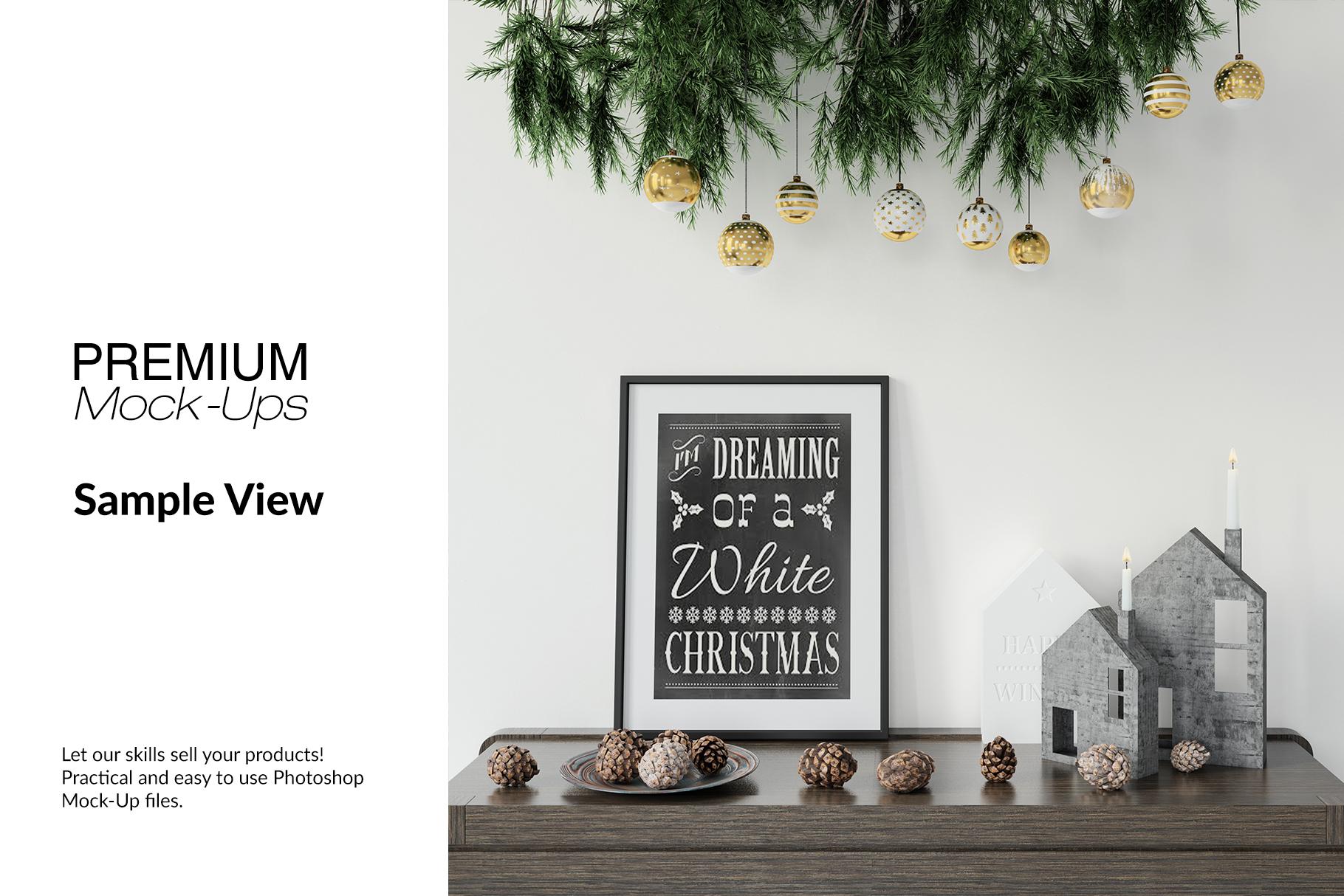 Christmas Frames & Wall Set example image 9