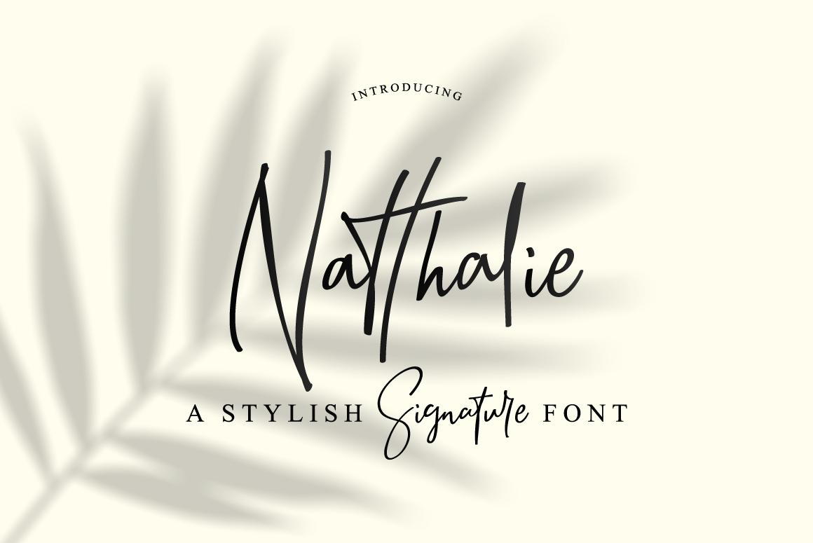 Natthalie Signature example image 1