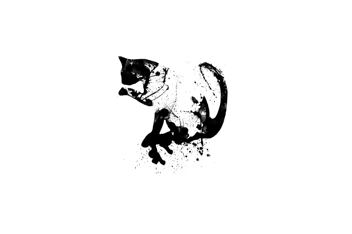 20 Illustration abstract Cats example image 20