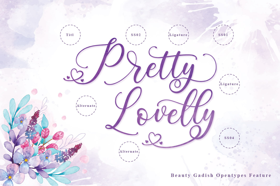 Lovely Calligraphy Collections example image 11