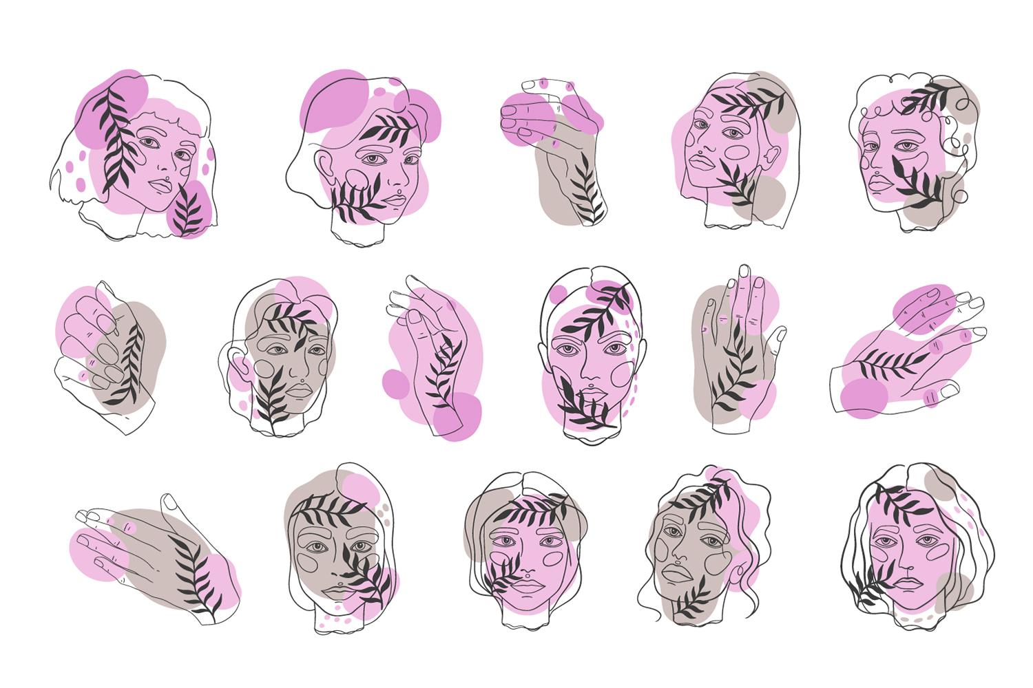 Hand and head set example image 1