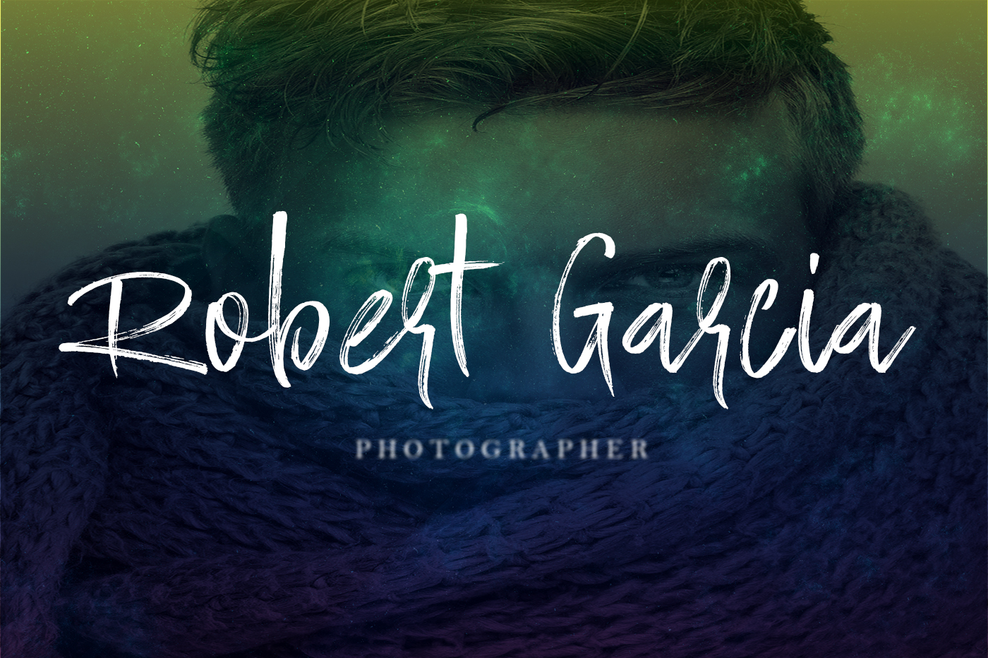 Ramsterink Brush Font example image 5
