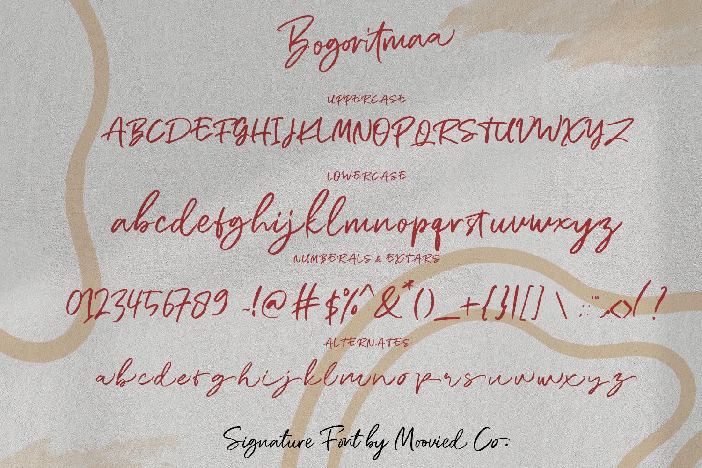 Bogoritmaa Signature example image 6