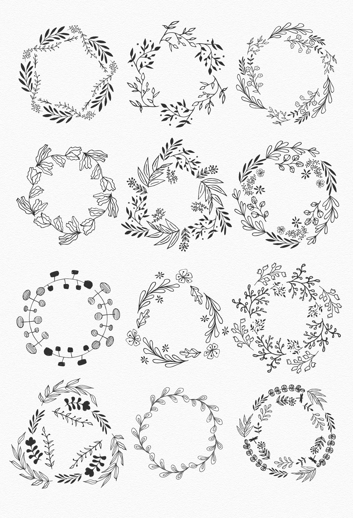 Wreaths and branches vol.2 example image 3