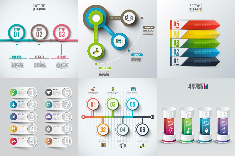 Infographic elements bundle v.02 example image 4