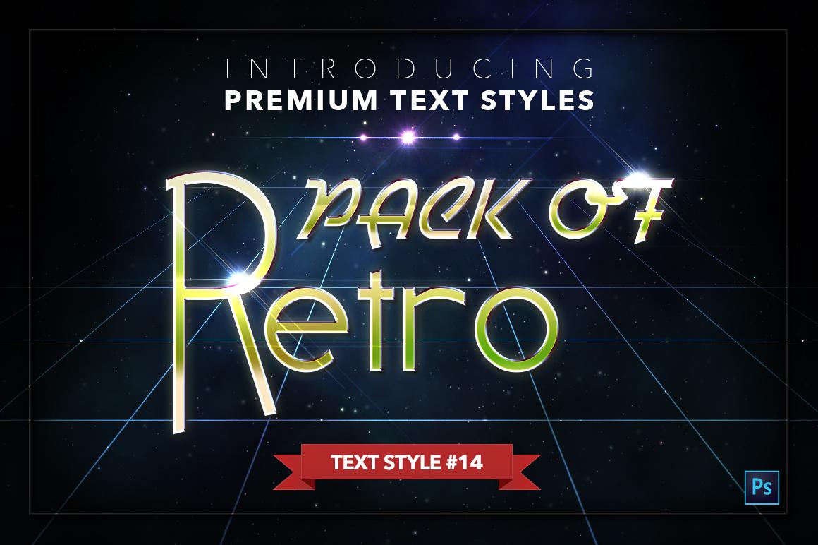 Retro #1 - 20 Text Styles example image 15