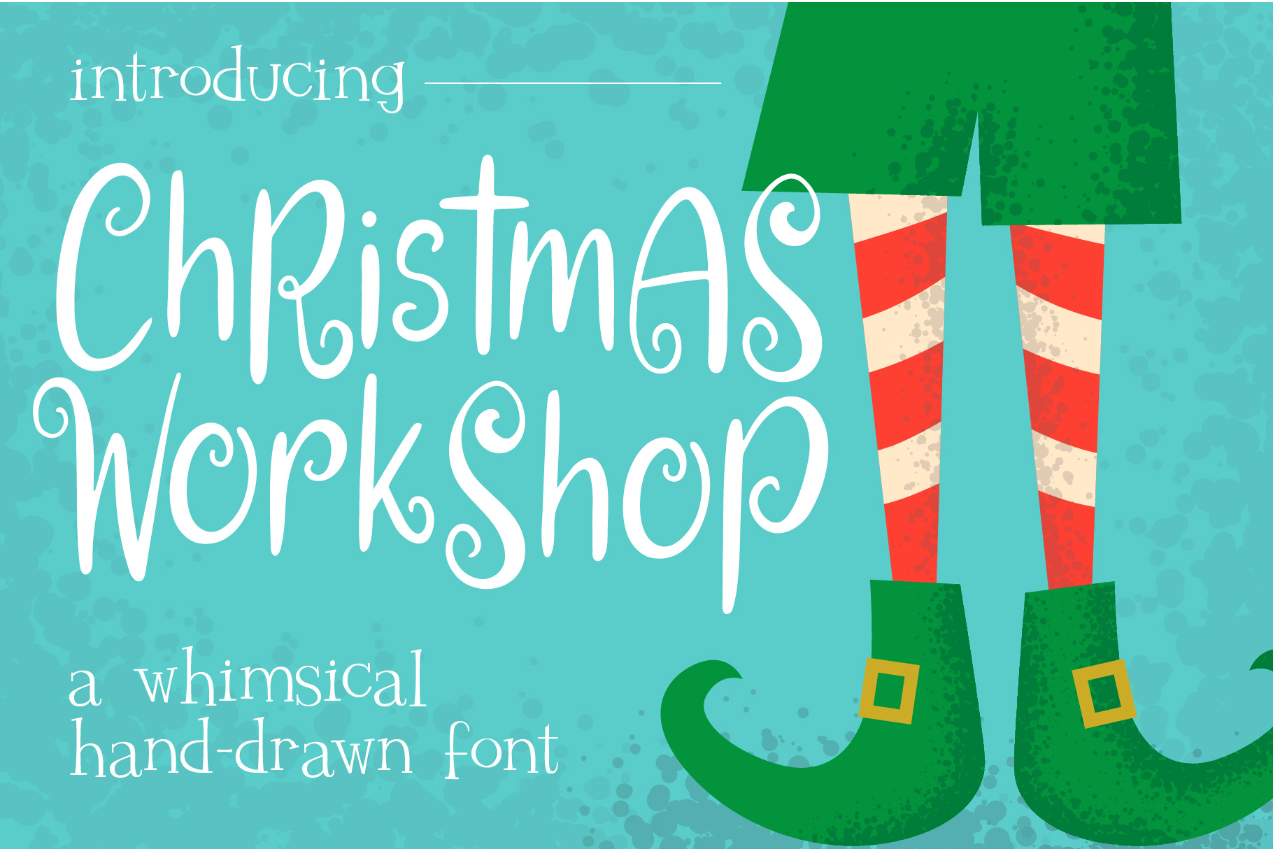 Christmas Workshop Font example image 1