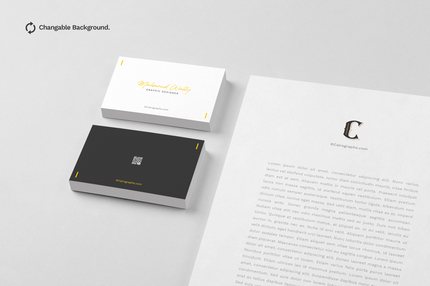 Business Card Mockups Vol.2 example image 1