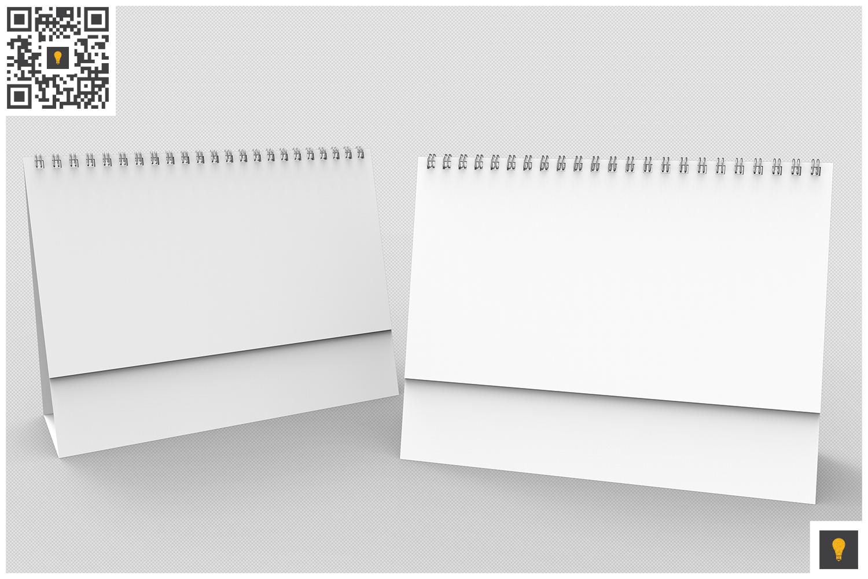 Desktop Calendar 3D Render example image 2